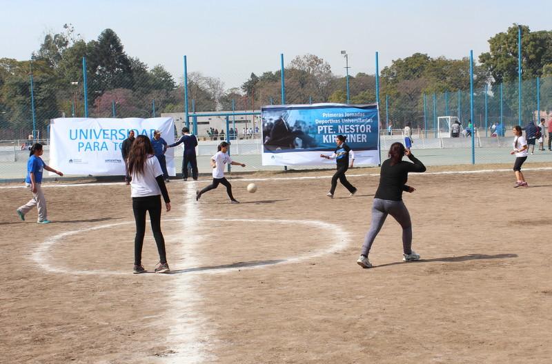 Primera Jornada Deportiva Universitaria Pte. Néstor Kirchner