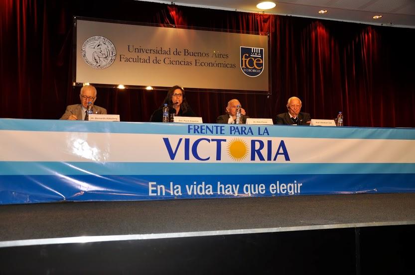 """Charla abierta: """"Los desafíos de América Latina en el contexto de la crisis internacional"""""""