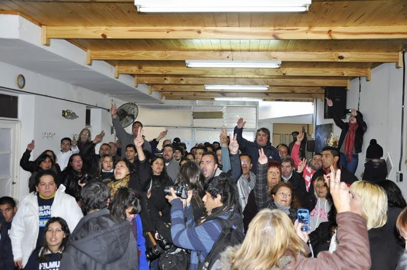 Cabandié y Filmus visitaron a los militantes de Villa Lugano