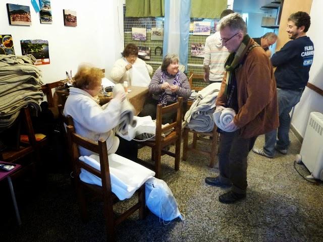 """Jornada Solidaria en el Centro de Jubilados """"Palermo Viejo"""""""