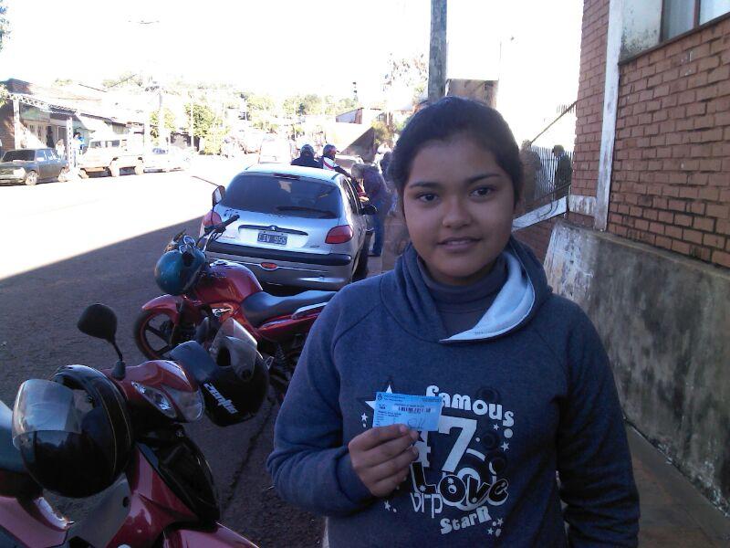 Primer voto de Candela, Misiones