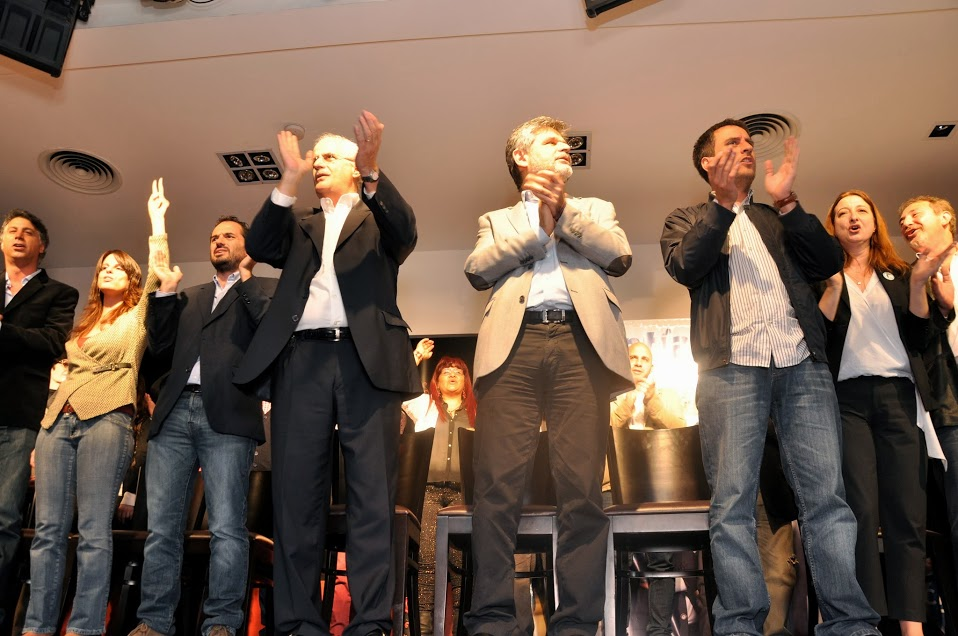Presentacion de los candidatos a legisladores porteños