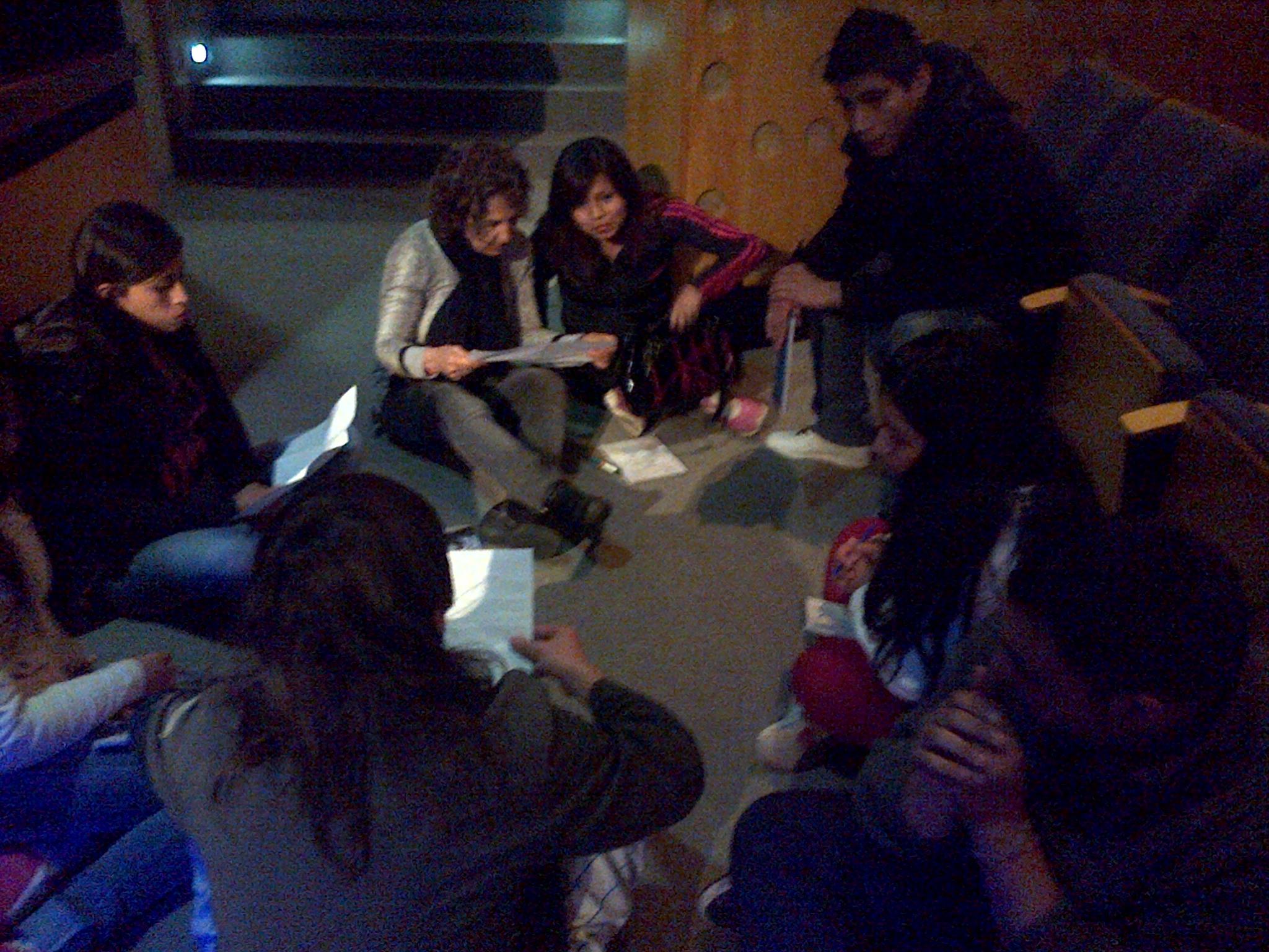 Charla sobre Identidad en el 1º encuentro de Promotores Sociales