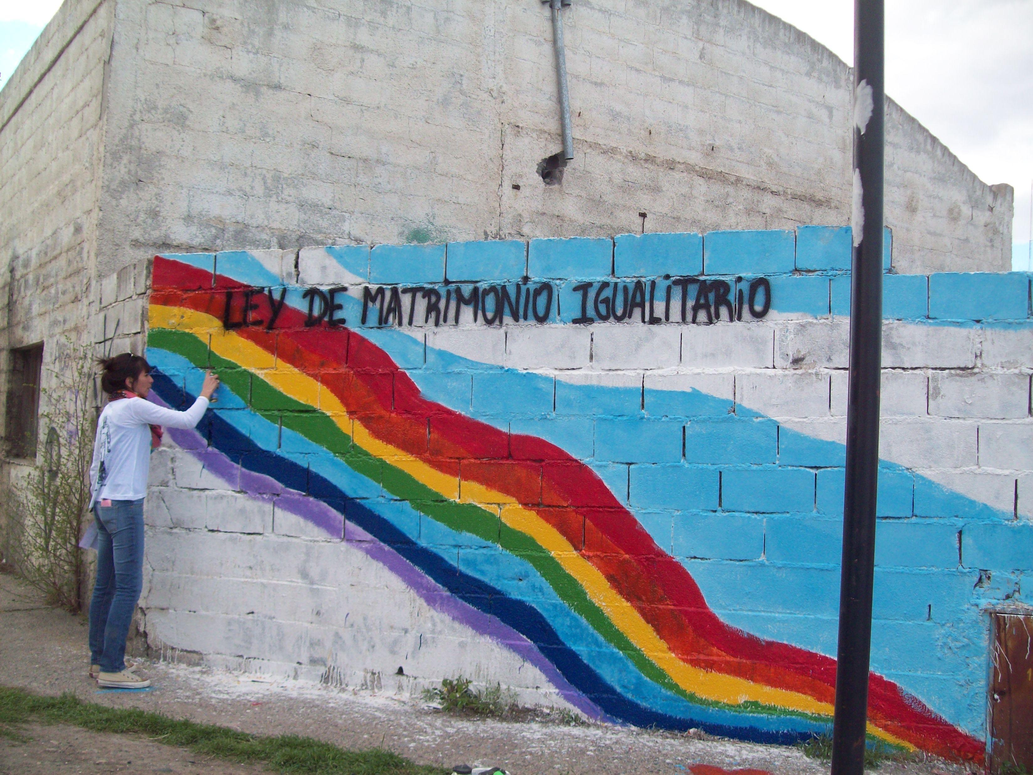 Mural de Diversia en Trelew
