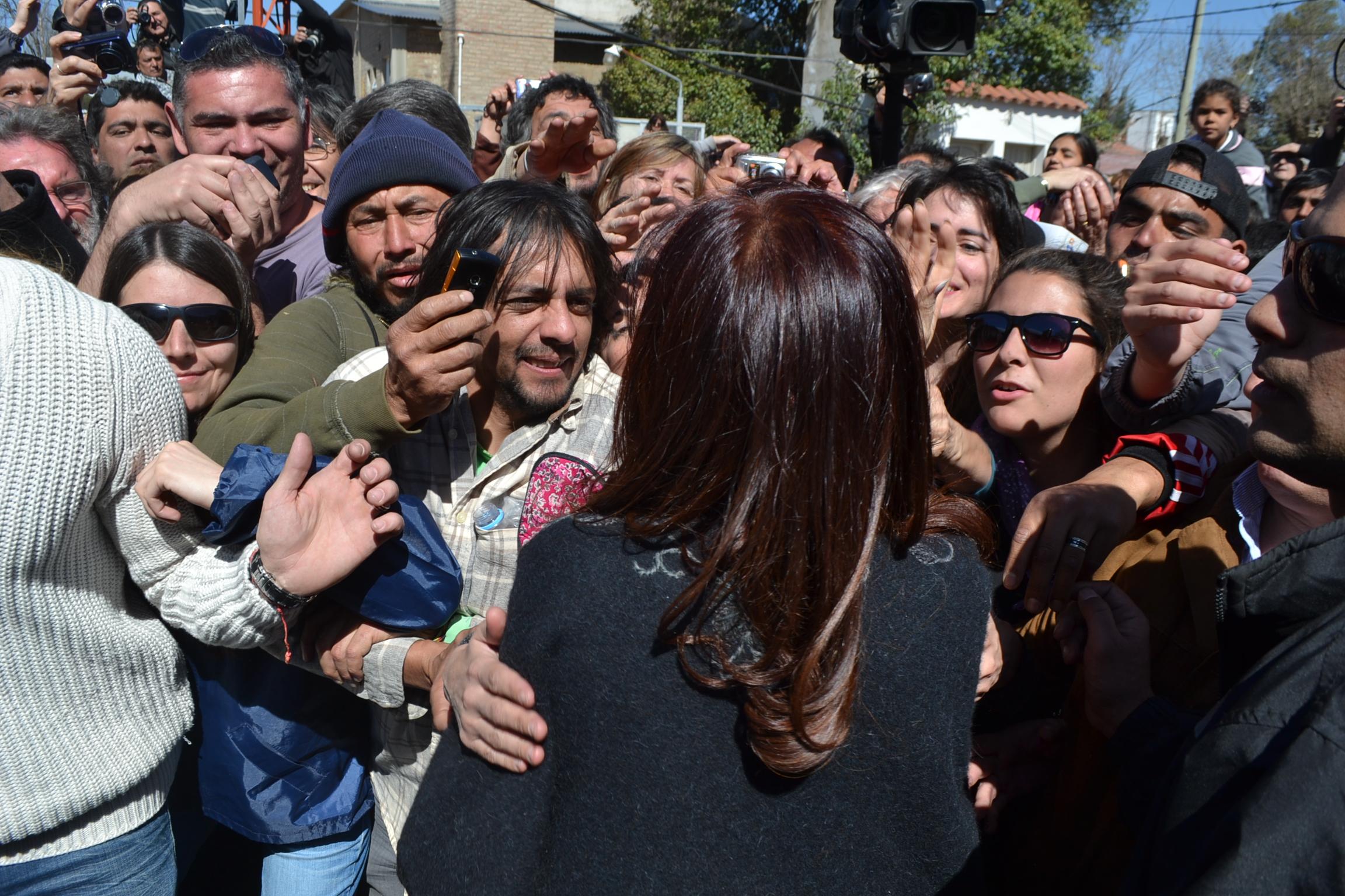 Con Cristina en Yacanto, Cordoba
