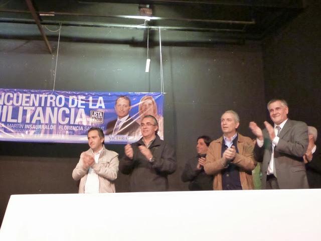 La militancia reunida en La Plata