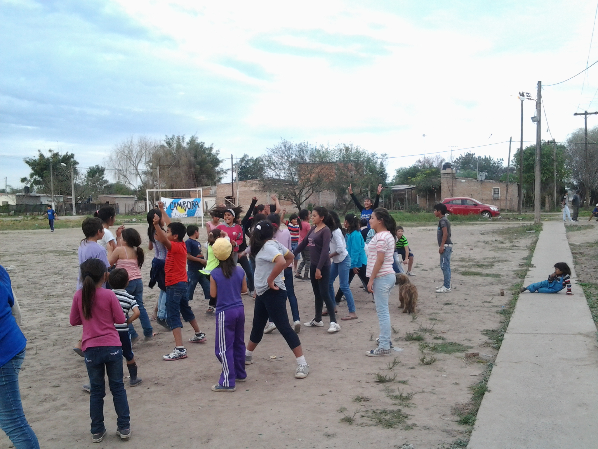 Recreación, Mural y Educación Sexual y Reproductiva, en Chaco