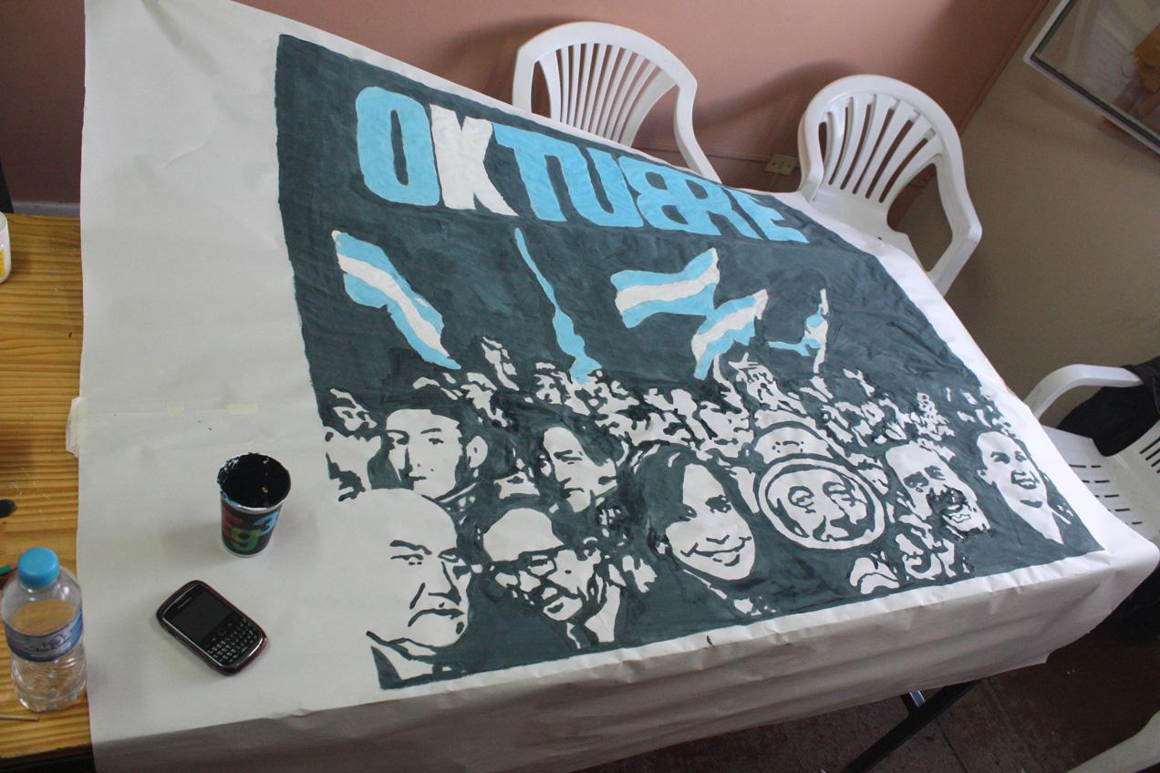 Pintada de afiches