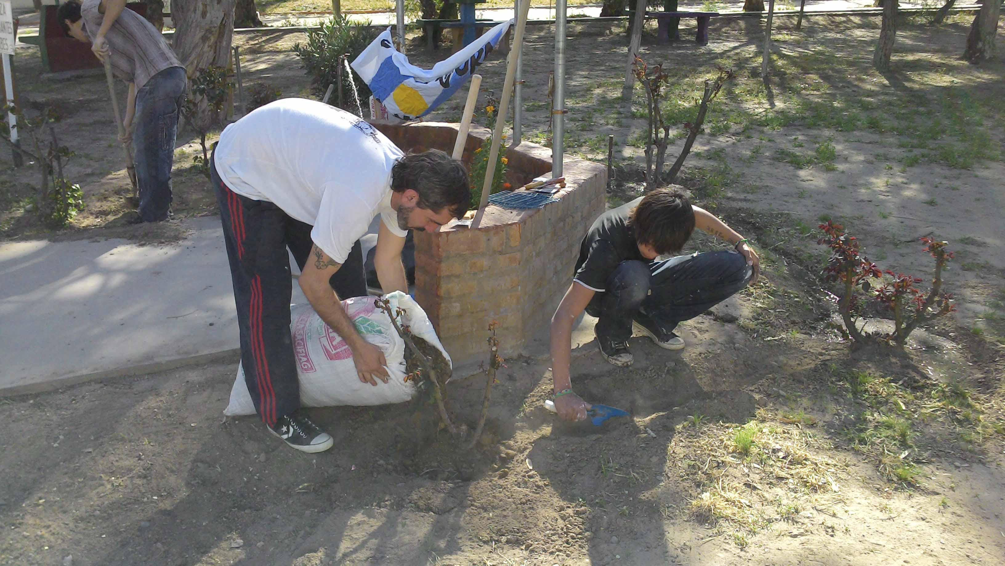 La Cámpora junto a los vecinos de Chubut