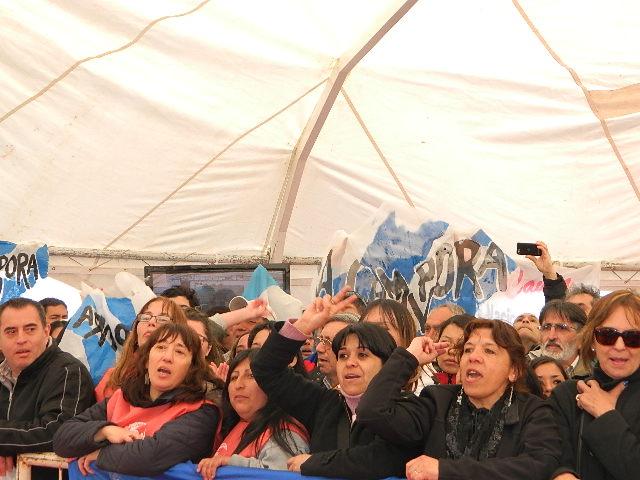 Junto a Cristina en Bariloche