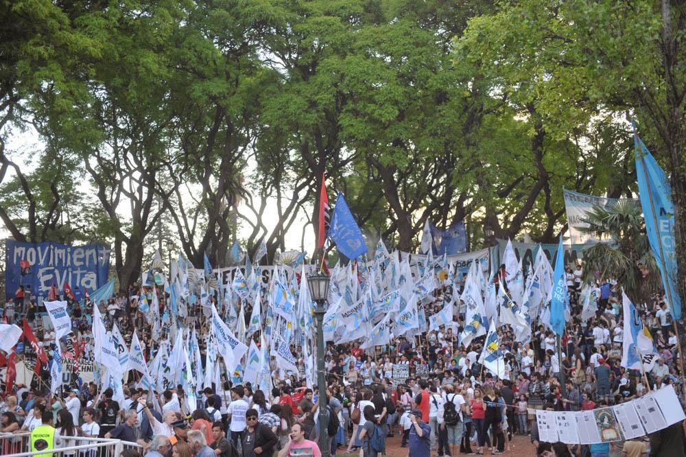 """""""La militancia es la garantía absoluta de este proyecto"""""""