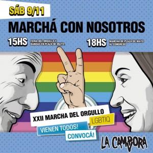 Invitacion Marcha del Orgullo 2013