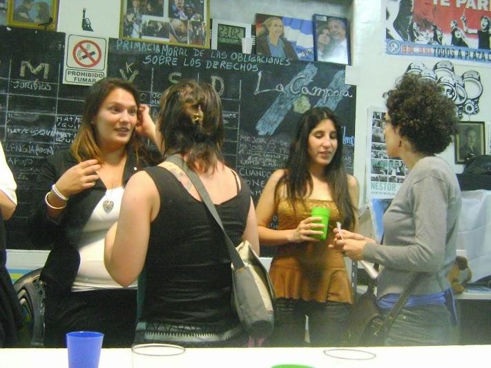 Cierre de año la Mesa de Mujeres en La Cámpora Ciudad de Buenos Aires