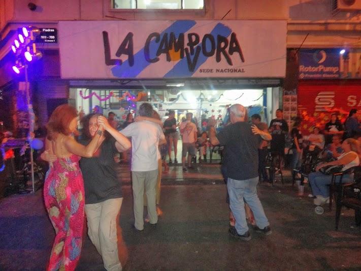 Festejo del 3er año de militancia de La Cámpora en Montserrat