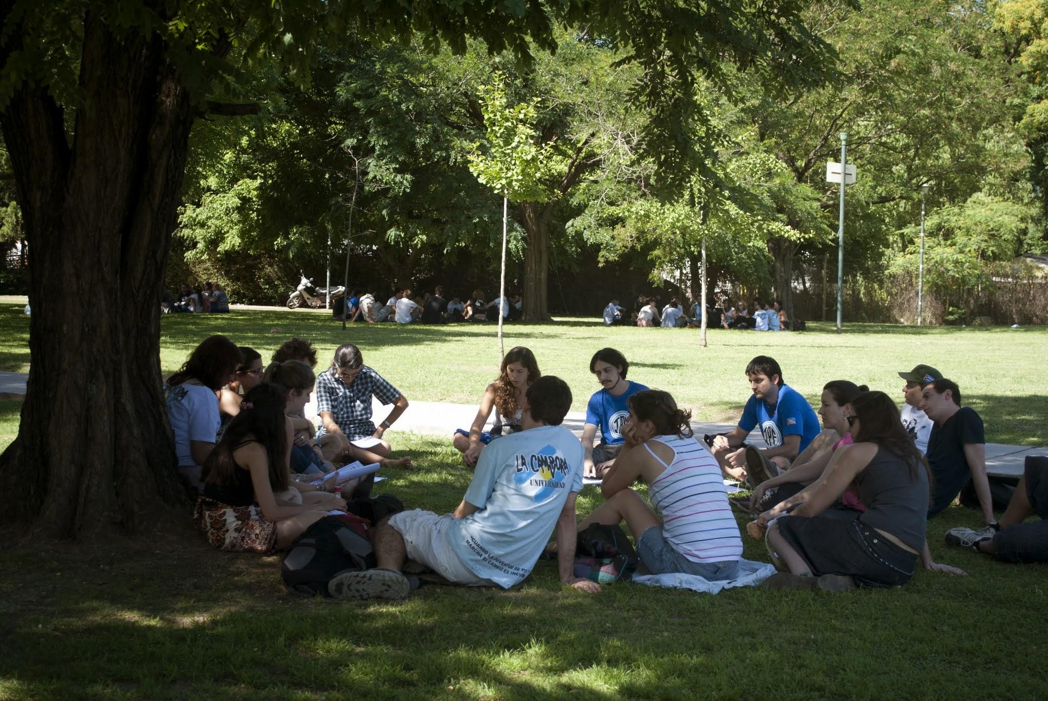 Jornada de cierre año 2013 del Frente Universitario de La Cámpora en la UBA