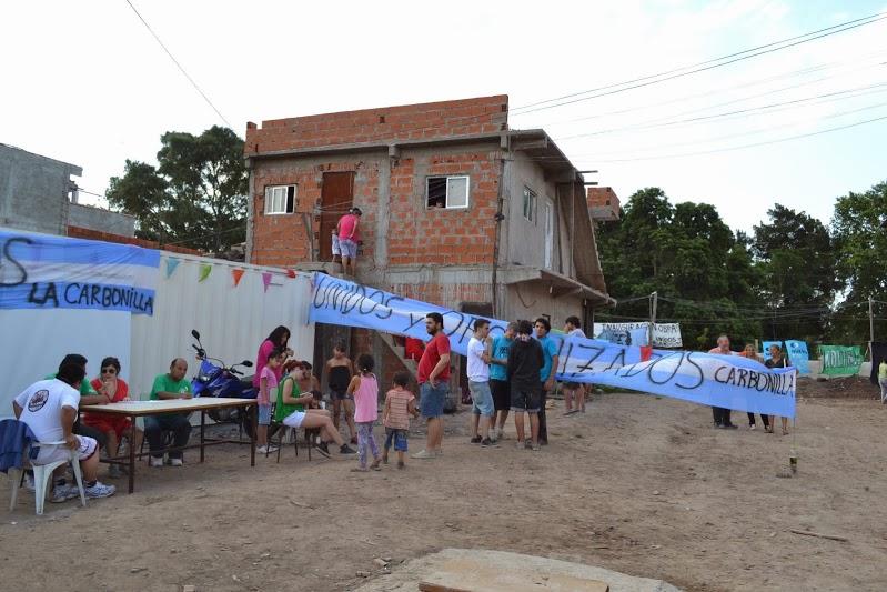 """Inauguración de la Red Troncal de Cloacas en """"La Carbonilla"""""""