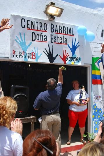 """Inauguración del Centro Barrial """"Doña Estela"""" en Villa Lugano"""