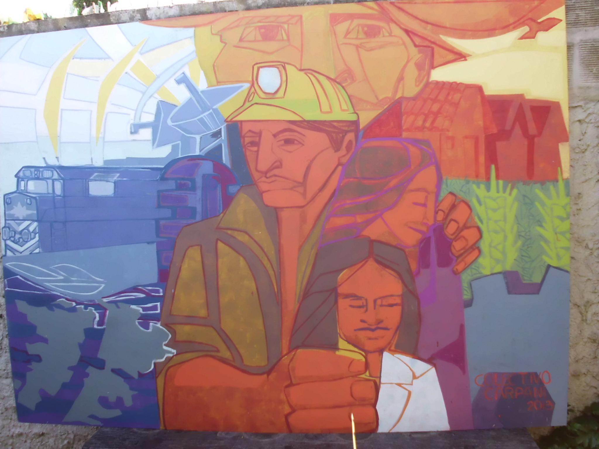 Murales de la democracia