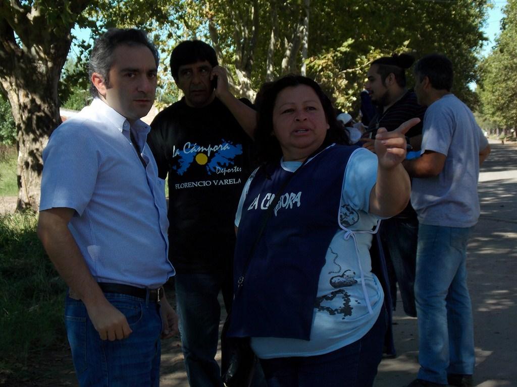 Militancia y solidaridad en Varela