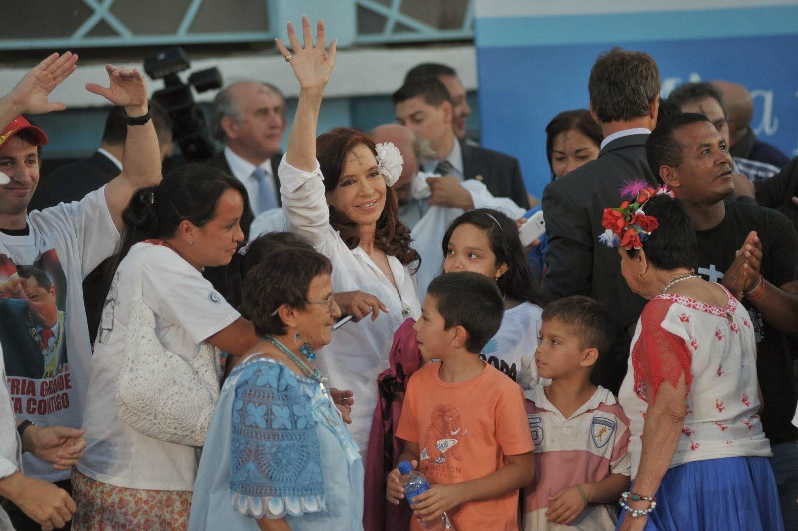 Misa en homenaje a Hugo Chavez, Villa 21