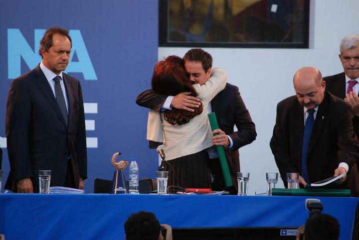 Cristina en La Plata: Un pueblo con memoria es democracia para siempre