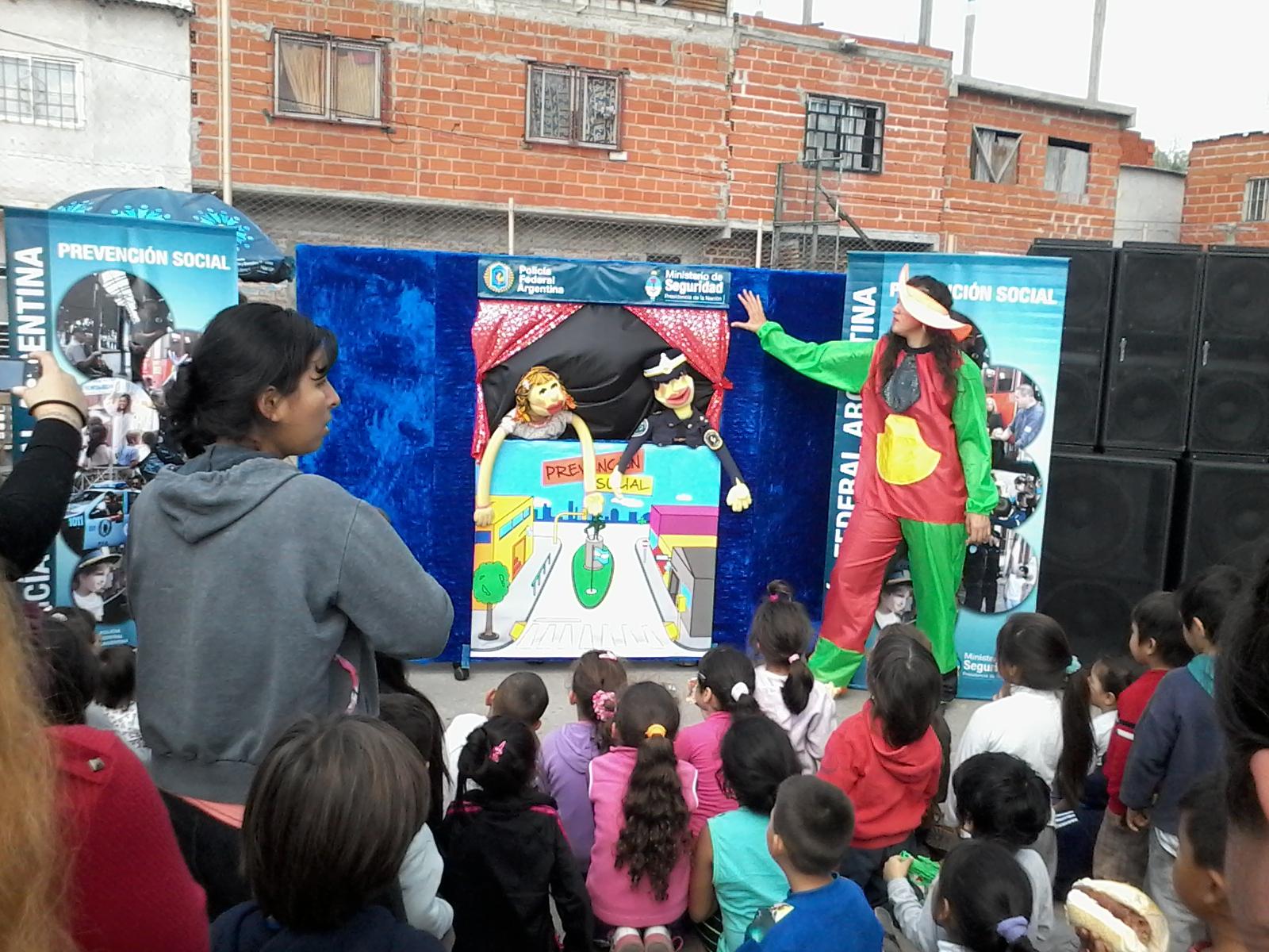 Festejos en barrio Fátima