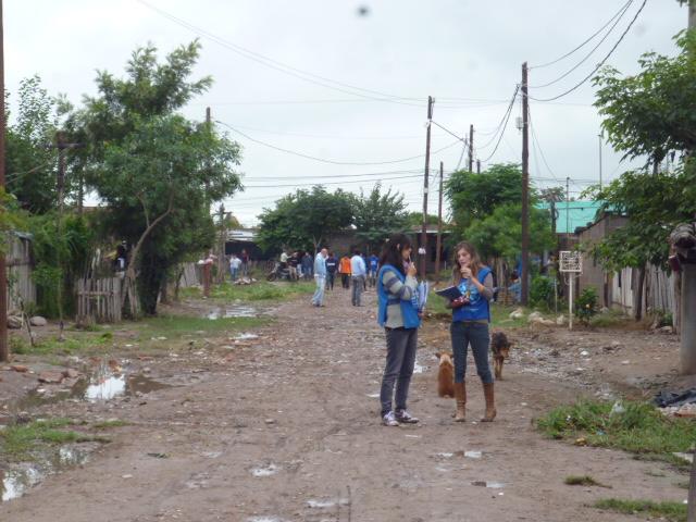 Jornada solidaria por el temporal en San Pedro