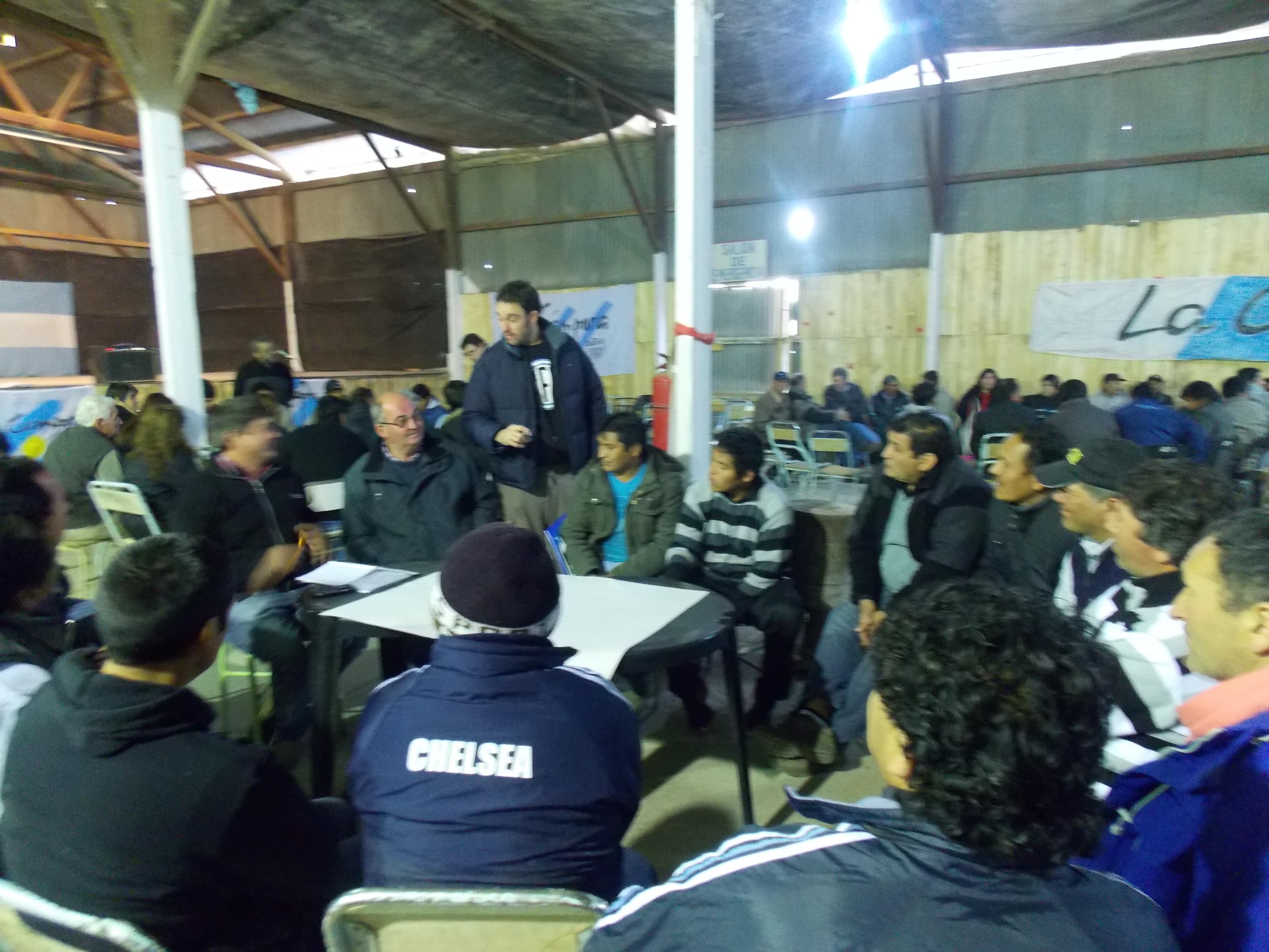 Encuentro de productores en Rio Negro