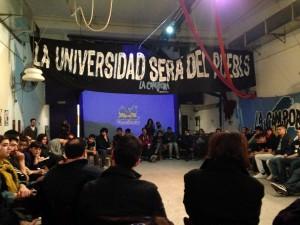 Cierre del ciclo de Formación por la Democratización Universitaria