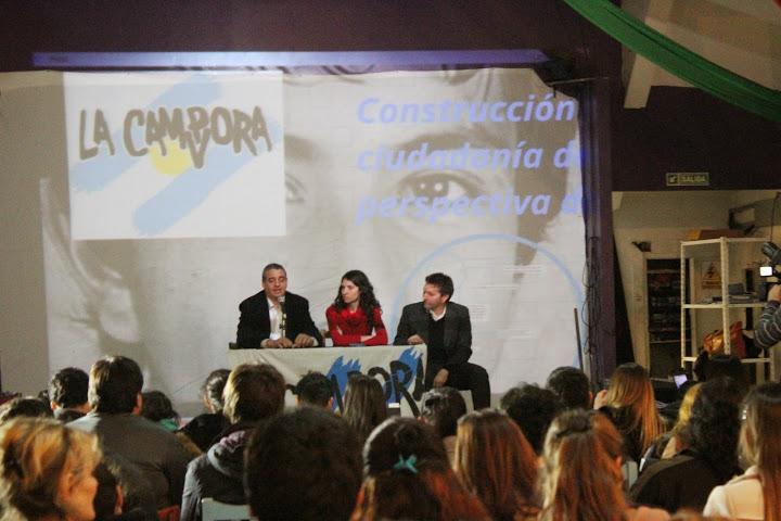 Charla sobre abordaje  territorial contra la violencia institucional