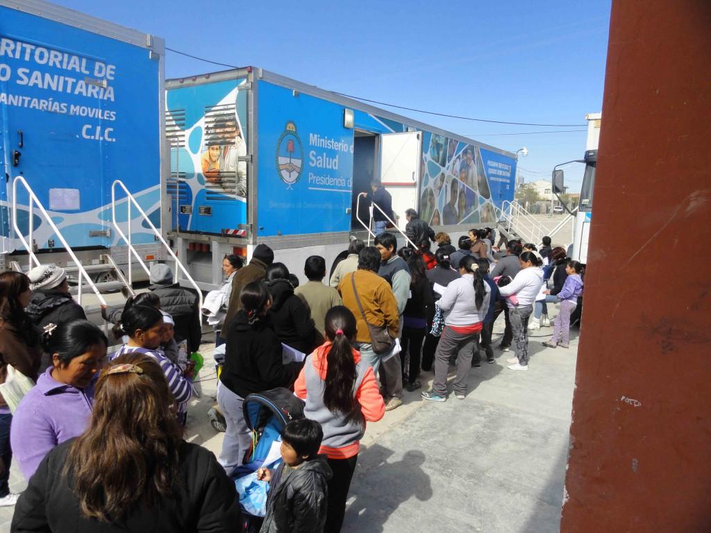 Camiones de Salud en Madryn -1