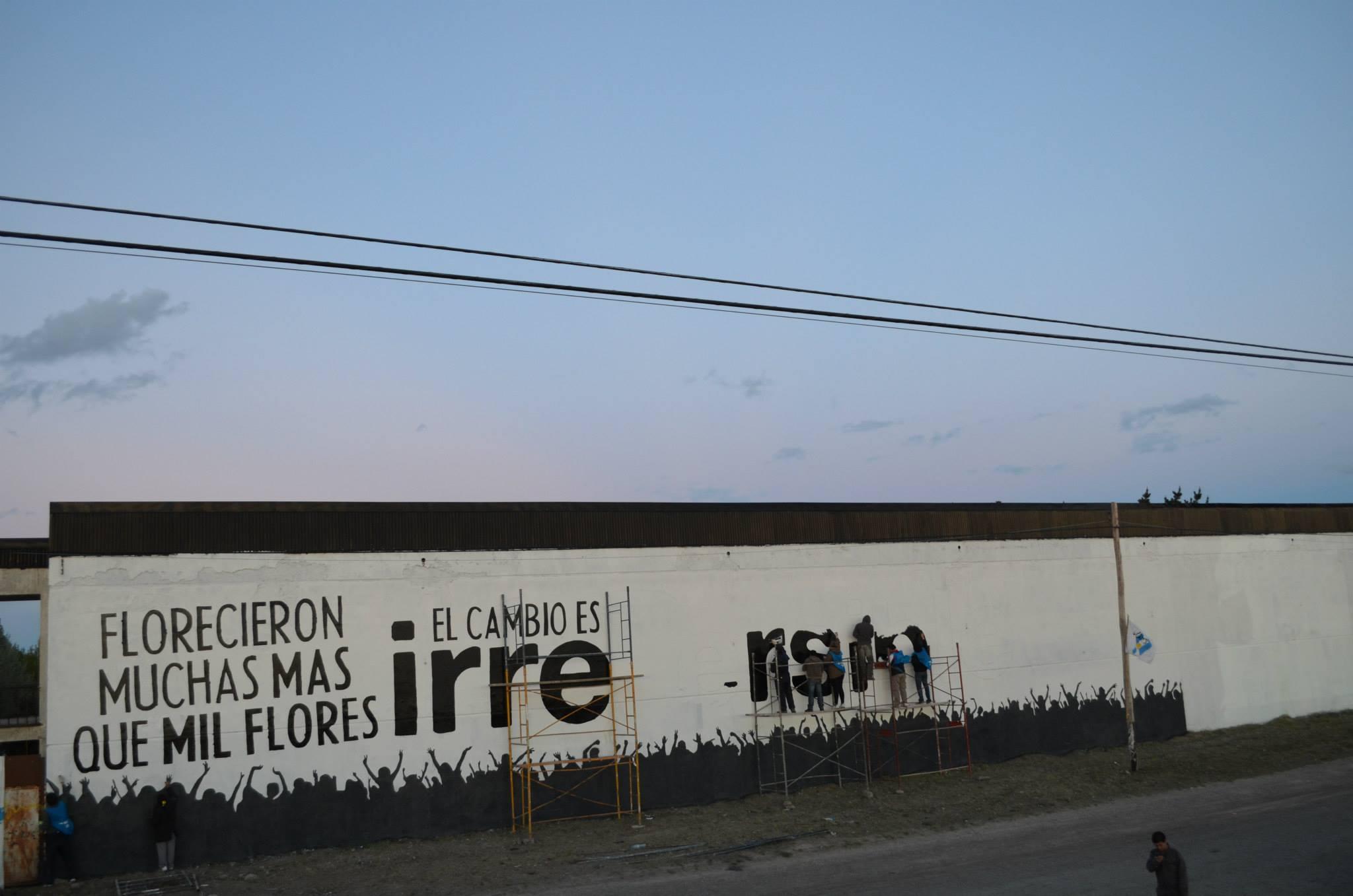 Mural Homenaje Río Gallegos