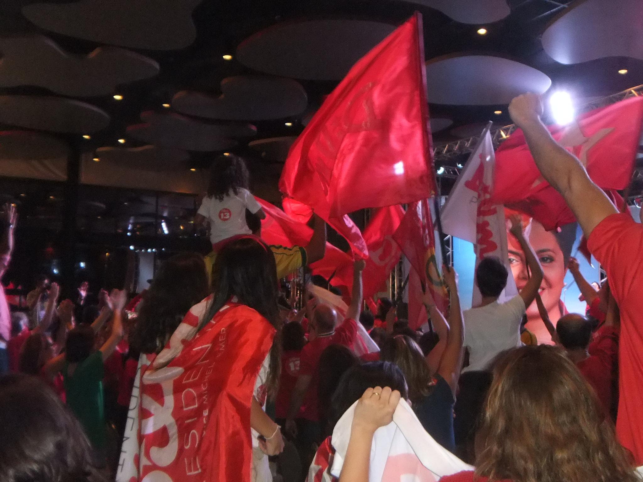 Dilma reelecta en Brasil
