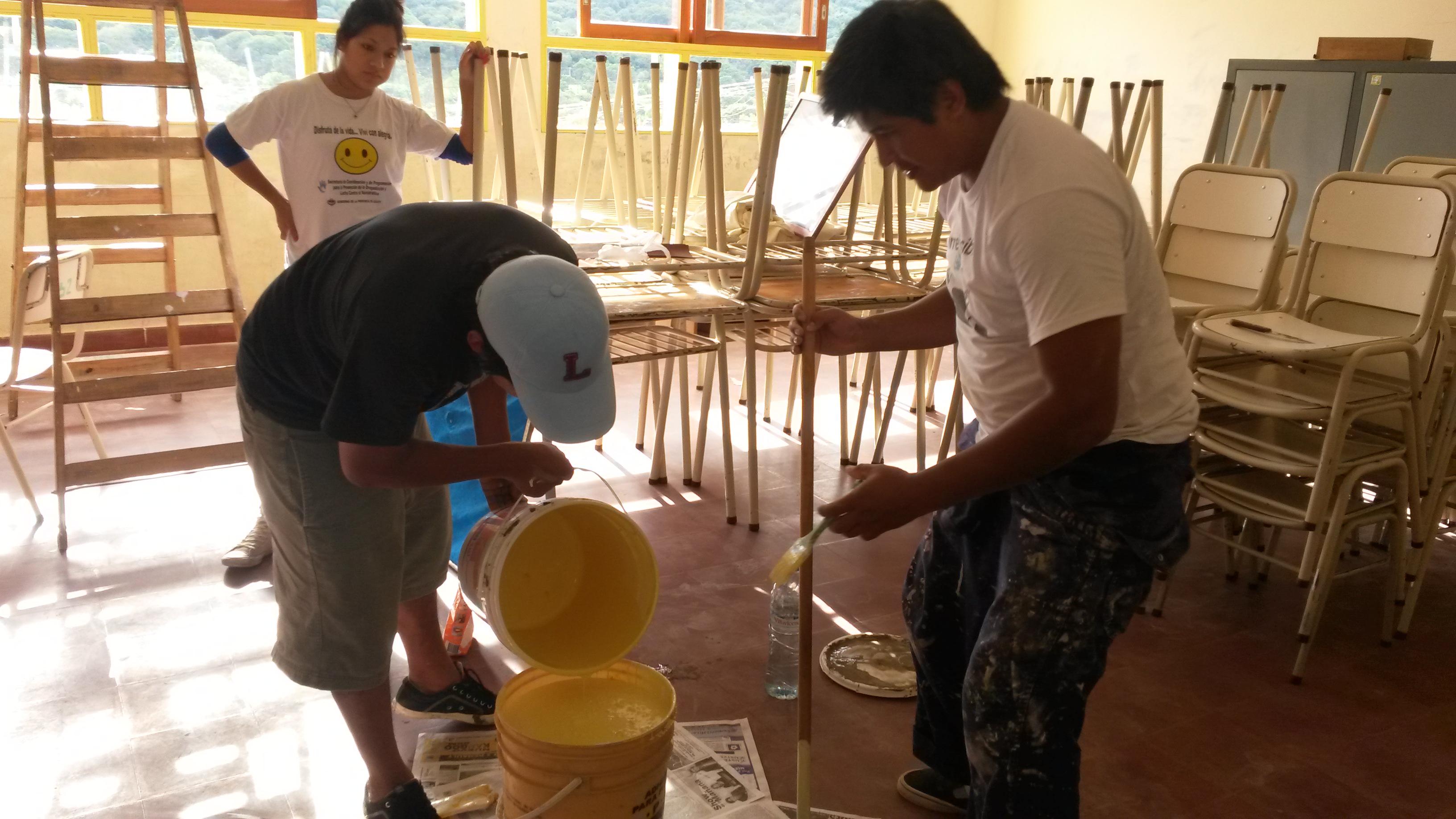 La juventud pinta en Jujuy