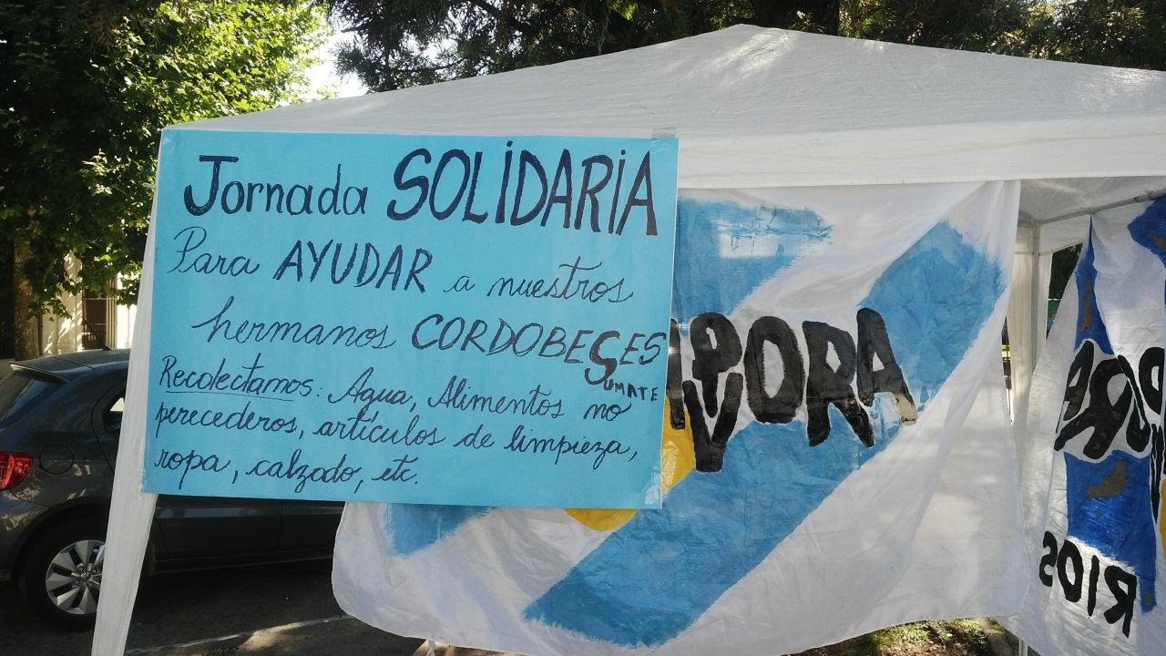 Solidaridad con Cordoba