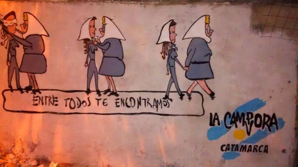 Mural en Catamarca
