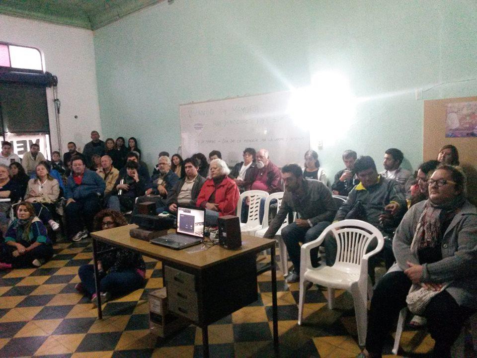 San Luis Charla Debate