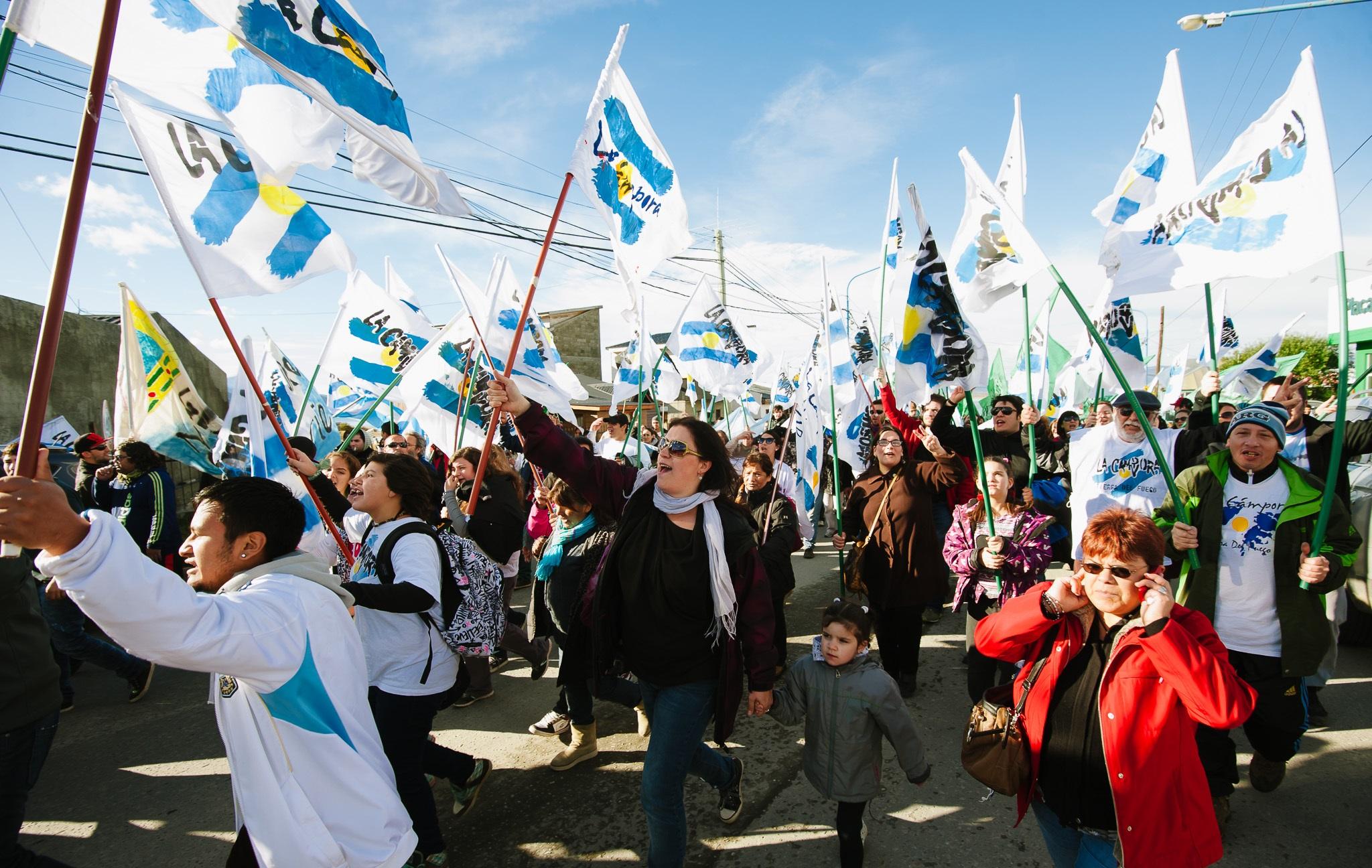 2 de abril Tierra del Fuego