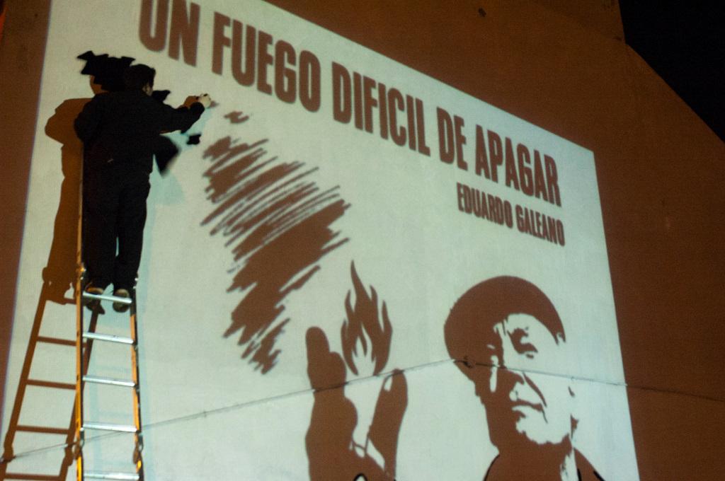 Mural Homenaje en Río Gallegos