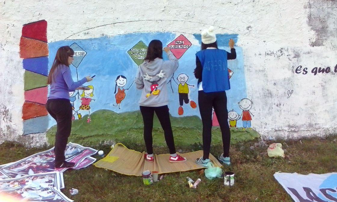 Paraná Mural por la inclusión