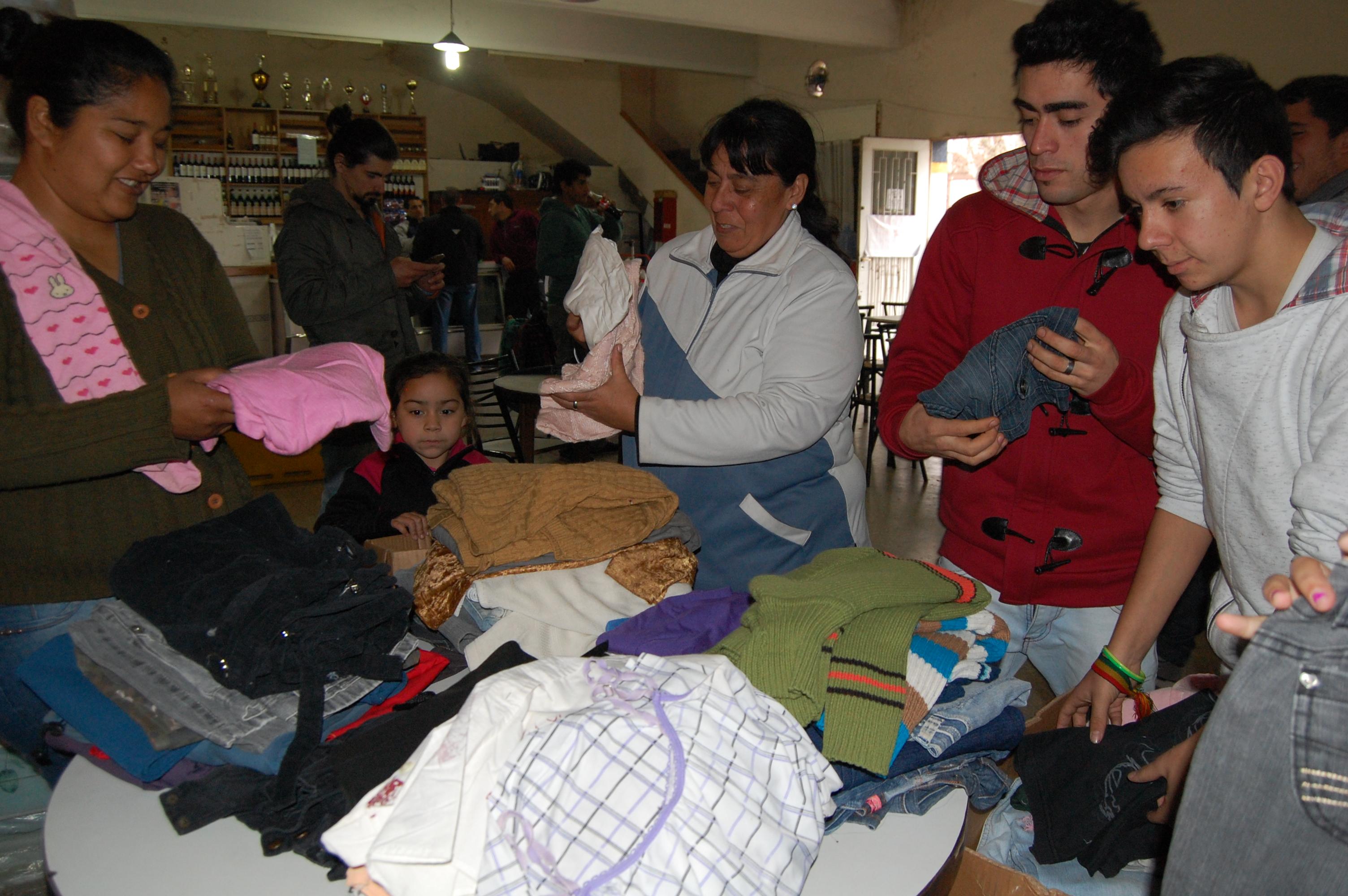 Jornada solidaria en Santa Fe