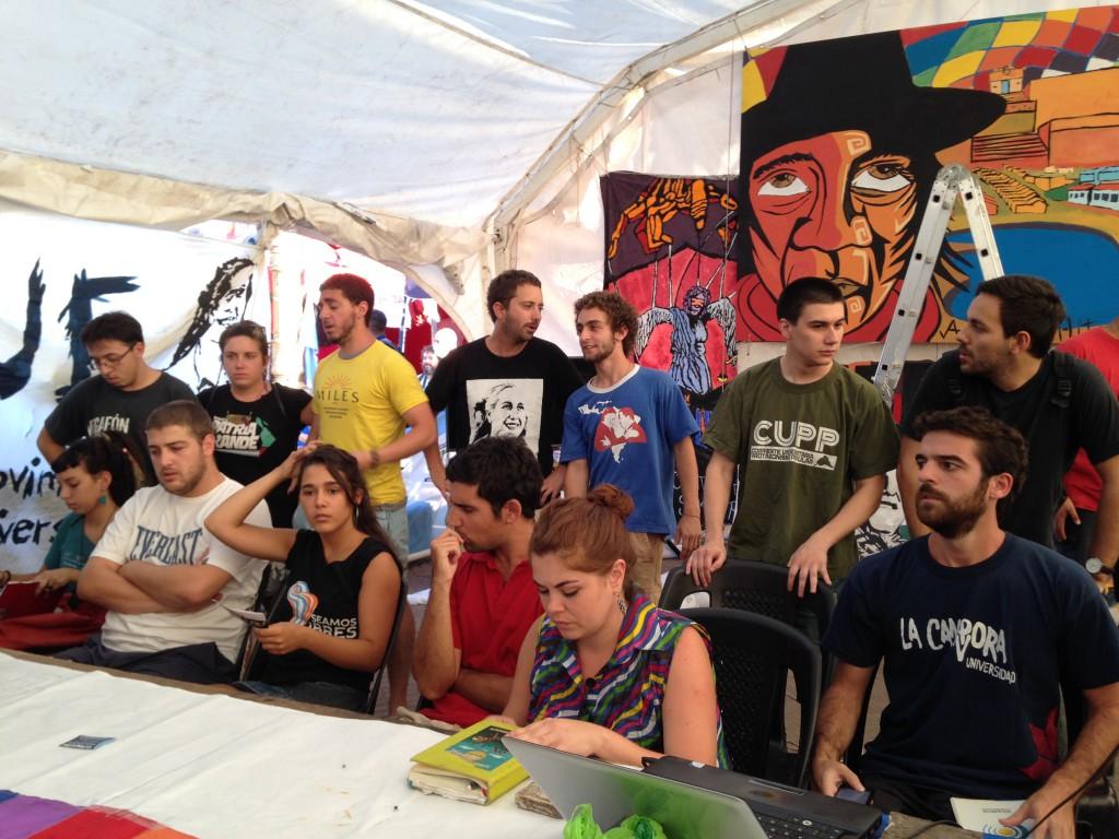 Movimiento Estudiantil por la Libertad de Milagro Sala