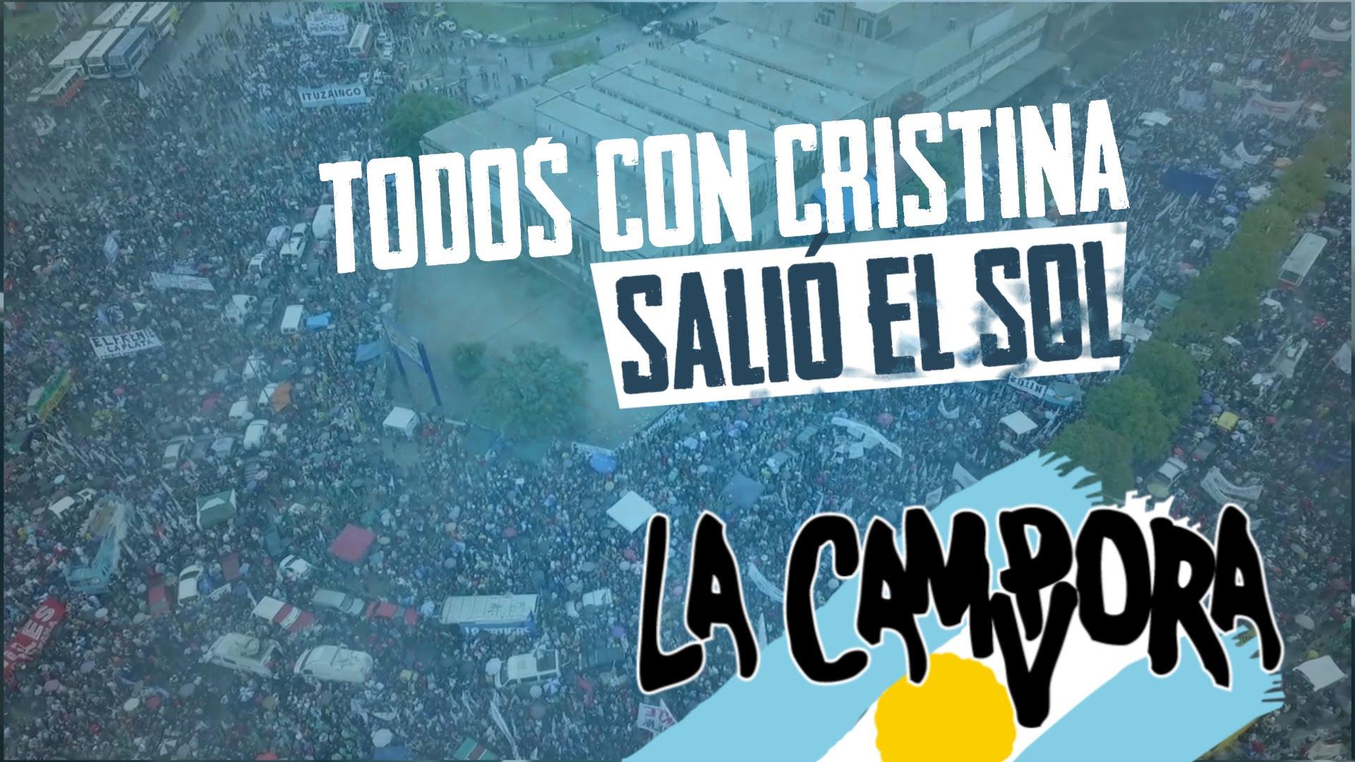 Remate de La Campora Cristina y