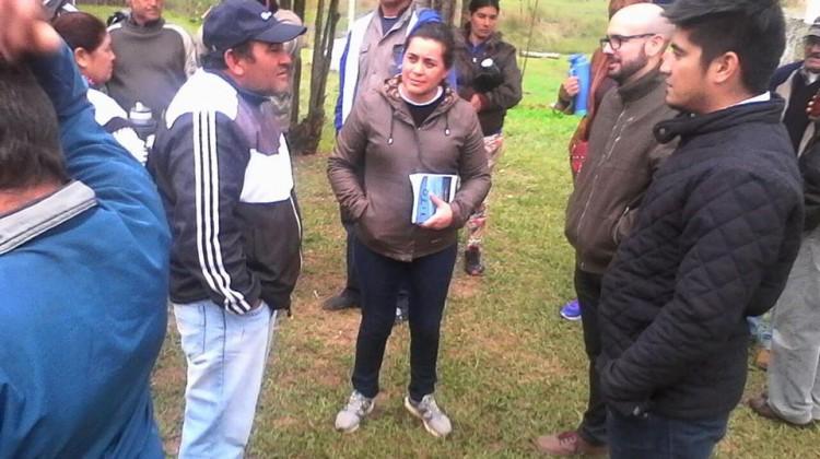 El Frente Rural acompañó el reclamo de los productores de Pago de los Deseos