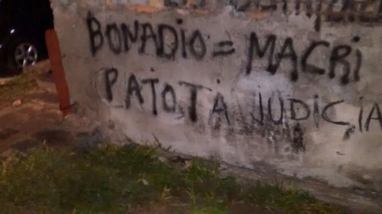 "Corrientes; San Roque, Corrientes y Tatacua, Pintadas ""Patota Judicial"""