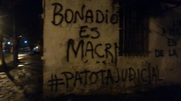 """Tucumán, Pintadas """"Patota Judicial"""""""