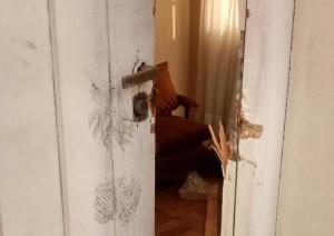 puerta rota