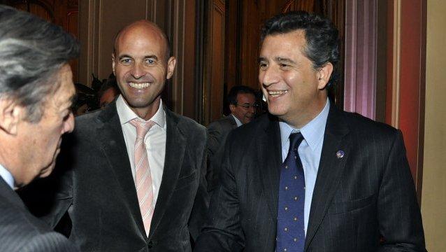 Guillermo Dietrich y Luis Etchevere