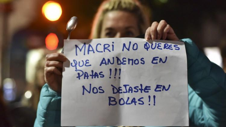 Segundo ruidazo en CABA: Av. Corrientes y Medrano, Almagro.