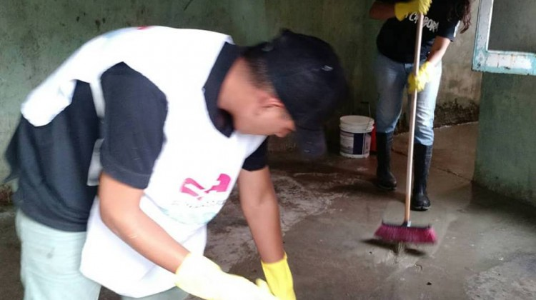 Jornada de limpieza María Cristina